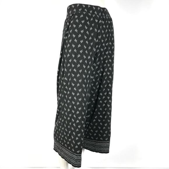 ❤️max studio capri wide leg pants elastic waist